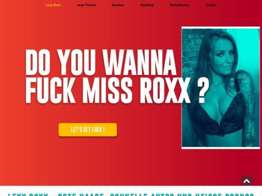 Rox pornos lexxy Lexy Roxx